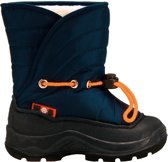 Winter-grip Snowboots Junior Blauw / Oranje Maat 35