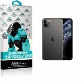 iPhone 11 Hoesje - Transparant Anti Shock verstevigd Achterkant Case Backcover + Tempered 9H screenprotector Bescherm Glas voor iPhone 11