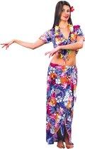 Luxe Hawaiian beauty - Kostuum - Maat M - Paars