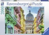 Ravensburger puzzel Kleurrijk Cuba - Legpuzzel - 2000 stukjes