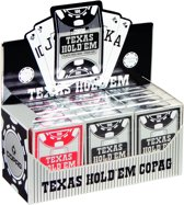 Plastic speelkaarten Texas Hold'em Display - Peek Index - Copag
