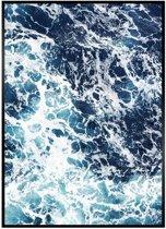 Minimalistic Wall Art - A3 Poster Ocean Foam