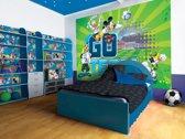 Fotobehang Disney, Mickey Mouse | Groen | 416x254