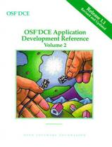 OSF DCE Application Development Reference Volume II