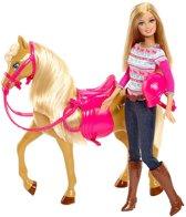 Barbie met Paard Tawny - Barbie pop