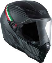 AGV Integraalhelm AX-8 Naked Carbon Black Forest -S