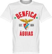 Benfica Established T-Shirt - Wit - XL