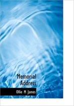 Memorial Address