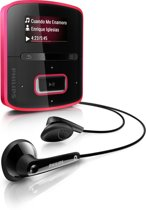 Philips GoGear Raga MP3 speler - 2 GB - Roze