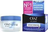 Olaz Anti-Wrinkle Instant Hydration - 50ml - Nachtcrème