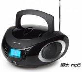 AudioSonic CD-1594 - Radio/CD-speler - Zwart