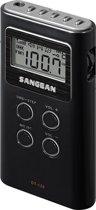 Sangean DT120 - Draagbare Radio - Zwart