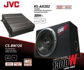 JVC CS-PBW120 - Versterker en subwoofer - Zwart