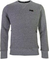 Superdry Orange Label Crew Sweater Heren  Sporttrui casual - Maat S  - Mannen - grijs