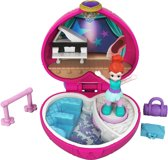 Polly Pocket Tiny Pocket Places Lila's Ballet Uitvoering - Speelfigurenset