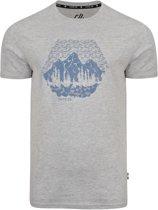 Dare 2b-Transferal Tee-Outdoorshirt-Mannen-MAAT M-Grijs