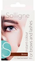 Solligne Instant Colour - Brown - 6 ml - Wenkbrauw- en wimperverf