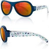 808482dd294046 SHADEZ - Onbreekbare baby zonnebril - UV 400 Designer zonnebril baby peuter  – Dino Blue