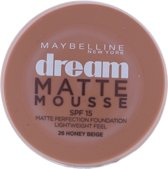 Maybelline Dream Matte Mousse - 26 honey beige - Foundation foundationmake-up