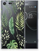Sony Xperia XZ Premium Uniek TPU Hoesje Leaves