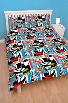 Batman v Superman Clash - Dekbedovertrek - Tweepersoons - 200 x 200 cm - Multi