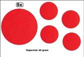 5x Superstar rood 45 gram colour 035