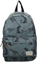 Skooter Animal Kingdom Kinderrugzak - Grijs met cheetah print