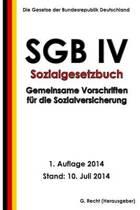 Sgb IV - Gemeinsame Vorschriften F r Die Sozialversicherung
