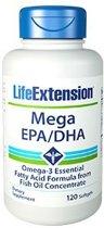 Life Extension Mega EPA/DHA -120 gelcapsules - Visolie - Voedingssupplement