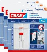 Tesa Smart Mounting verstelbare Klevende Spijker tegels & metaal 4 kg 3 stuks
