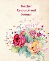 Teacher Resource and Journal