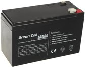 Green Cell 12V 7Ah (6.3mm) 7000mAh VRLA AGM accu