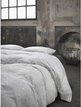 Essenza Monroe Dekbedovertrek - Tweepersoons - 200x200/220 cm - Silver