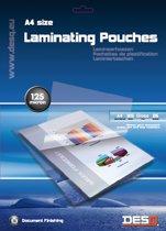 Desq 71243 laminatorzak A4 |25 stuk(s) | 125 micron