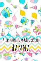 Alles Gute zum Geburtstag Hanna