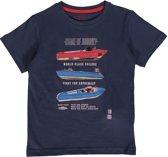 Losan Jongens Shirt Blauw met print - Maat 116