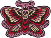 Deaths head moths patch - Sourpuss