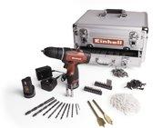 Einhell Accuboormachine TH-CD 12-2 LI - Inclusief 214-delige toolbox