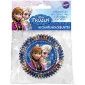 Frozen cupcake vormpjes 50 stuks