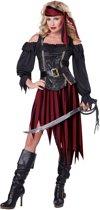 Piraten outfit voor vrouwen  - Verkleedkleding - Medium