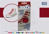 Shoeps Elastische Veters Rood