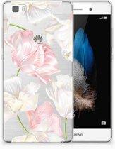 Huawei Ascend P8 Lite TPU Hoesje Design Lovely Flowers