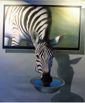Diamond painting zebra 40 x 50 cm