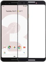Let op type!! Front Screen Outer Glass Lens for Google Pixel 3 (Black)