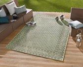 Vloerkleed - In&outdoor - Bougari Royal - Groen - 160x230cm geweven