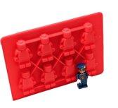 3 BMT IJsblokjesvorm LEGO siliconen - voor chocolade en ijsblokjes - 12 x 19 cm
