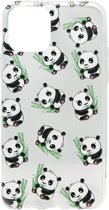 ADEL Siliconen Back Cover Softcase hoesje voor iPhone 11 Pro - Panda