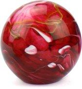 Glasobject miniurn Elan 0,5 liter rood