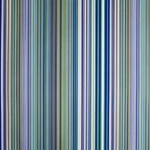 Toonbankrol.nl - Cadeaupapier op rol - Strepen blauw/groen - 50cm - 150m - 80gr