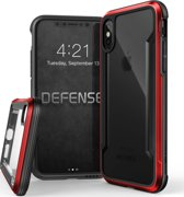 X-Doria Defense Shield cover - rood - voor iPhone X